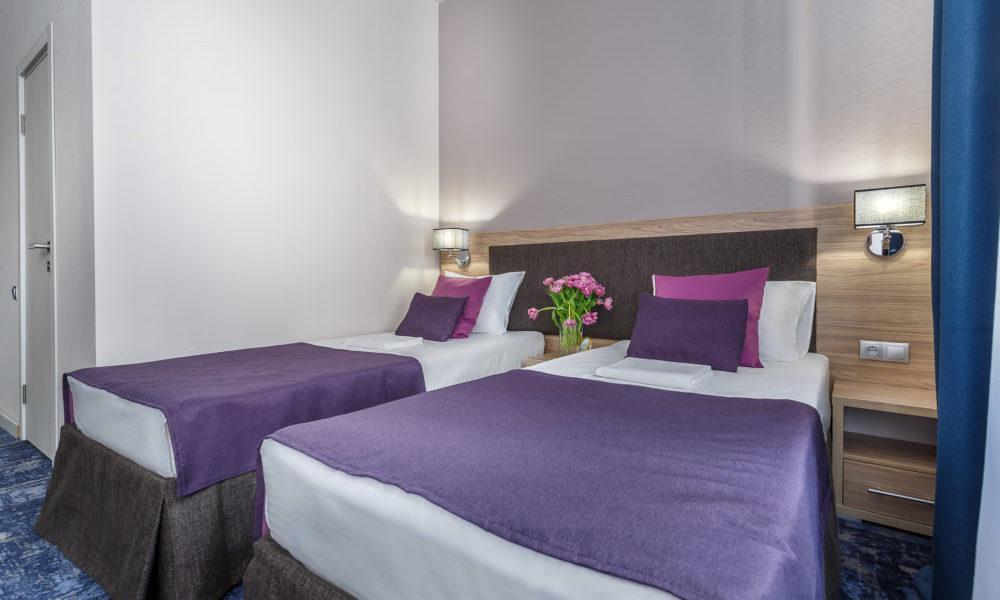 стандартный люкс раздельные кровати