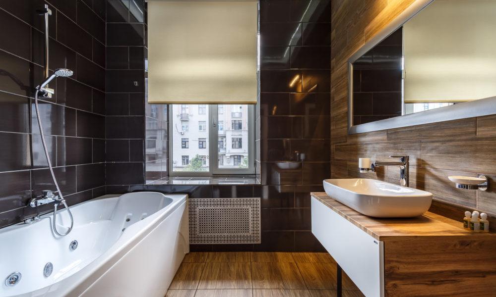 ванная комната люкс с джакузи