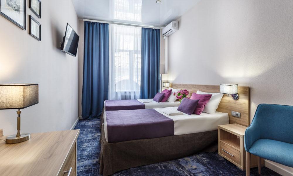 две раздельные кровати улучшенный номер